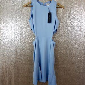 d6fcd6766b2 Rachel Zoe Dresses - Rachel Zoe Anna Dress in Periwinkle Blue Cutouts